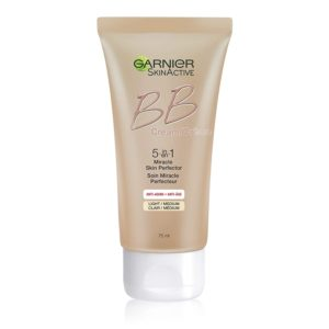 Garnier SkinActive BB Cream Anti-Aging Face Moisturizer, Light Medium, 2.5 Ounce