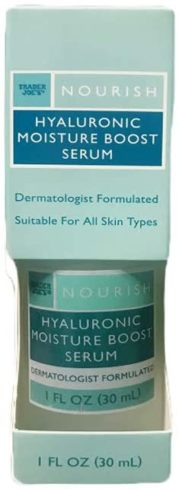 Hyaluronic Moisture Boost Serum - Promotes Collagen Production, 1 Fl. Oz