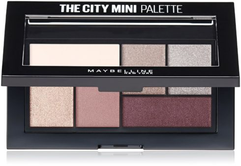 Maybelline New York Makeup The City Mini Eyeshadow Palette, Chill Brunch Neutrals Eyeshadow, 0.14 oz