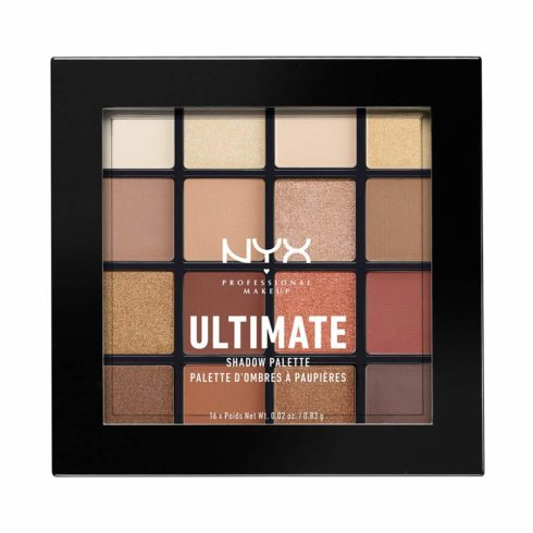 NYX PROFESSIONAL MAKEUP Ultimate Shadow Palette, Eyeshadow Palette, Warm Neutrals