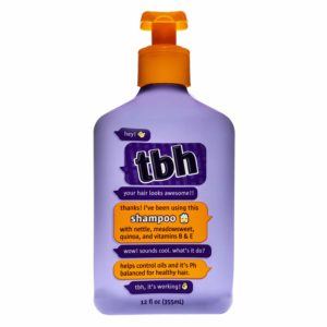 TBH Kids Shampoo - Oil Controlling Shampoo - Sulfate, Paraben Free - 12 oz
