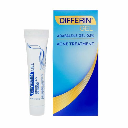 Acne Treatment Differin Gel, Acne Spot Treatment for Face Adapalene, 15g, 30 Day Supply, 0.5 Ounce