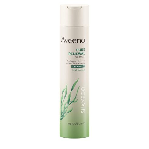 Aveeno Pure Renewal Gentle Shampoo, 10.5 Fl. Oz (2 Count)