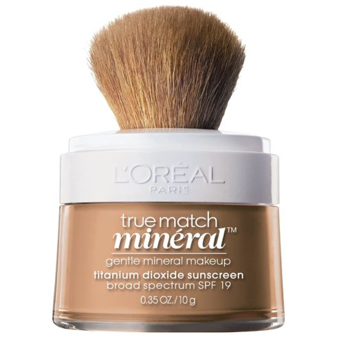 L'Oreal Paris True Match Mineral Loose Powder Foundation, Creamy Natural