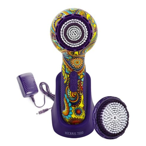 Michael Todd Beauty Soniclear Elite Antimicrobial Facial Cleansing Brush System