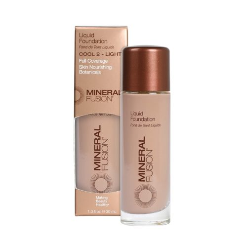 Mineral Fusion Liquid Foundation, Cool 2, 1 Fl Ounce