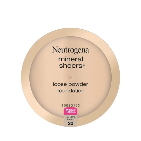 Neutrogena Mineral Sheers Lightweight Loose Powder Makeup Foundation with Vitamins A, C, & E