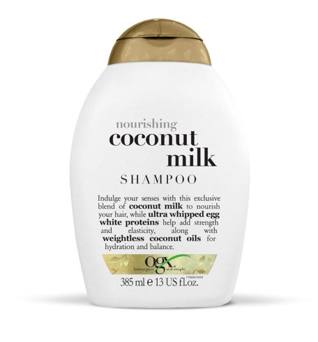 OGX Nourishing + Coconut Milk Shampoo, 13 Ounce (91005)