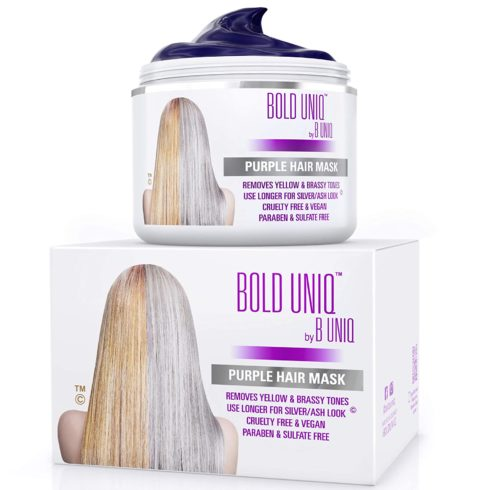 Purple Hair Mask for Blonde