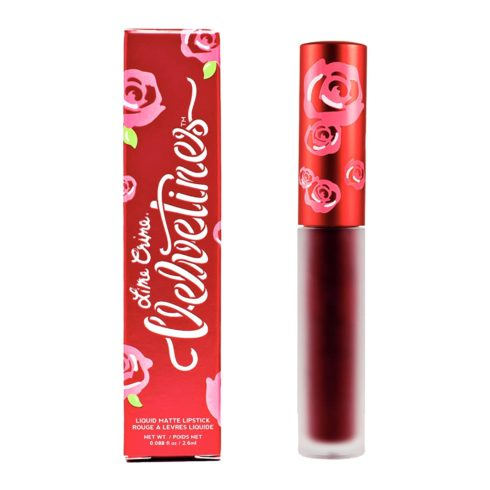 Lime Crime Velvetines Liquid Matte Lipstick, Wicked - French Vanilla Scent - Long-Lasting Velvety Matte Lipstick - Won't Bleed or Transfer - Vegan