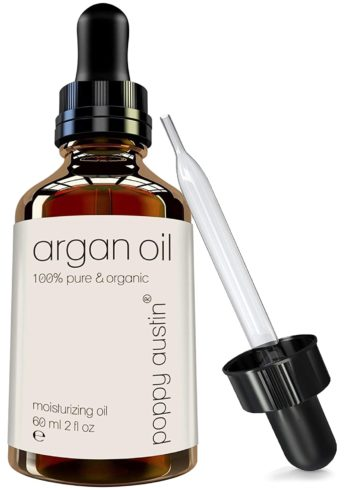 Pure Argan Oil for Hair & Skin - Vegan Certified, Cruelty-Free, Organic & Eco Friendly - Hand Made, Cold Pressed & Finest Grade Argon Oil, 2 oz