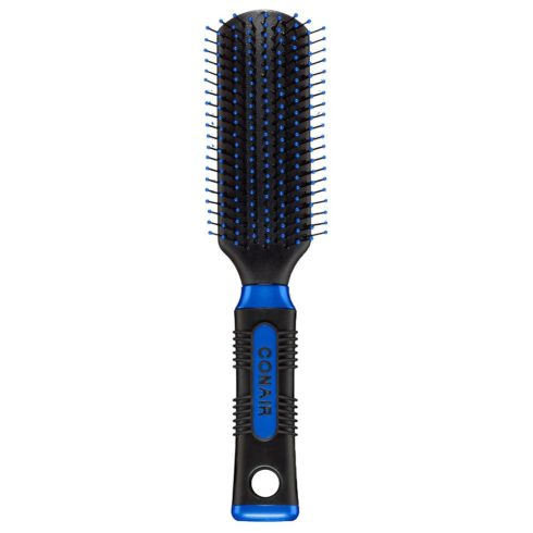Conair Pro Hair Brush with Nylon Bristle, All-Purpose, Colors May Vary