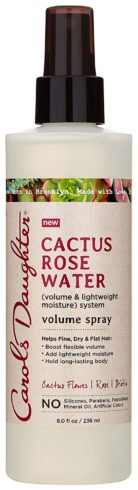 Carols Daughter Cactus Rose Water Volume Spray, 8 Fluid Ounce