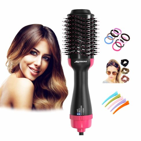 Hot Air Brush Hair Dryers & Volumizer 3 in 1 Hair Dryers Brush with Negative Ionic for Blowing Straightening Curling and Reducing Frizz Styling Tools for All Type Hair