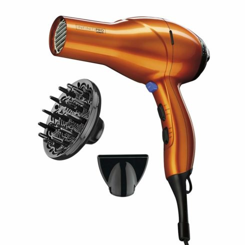 INFINITIPRO BY CONAIR 1875 Watt Salon Performance AC Motor Styling ToolHair Dryer, Orange
