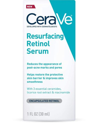 CeraVe Retinol Serum for Post-Acne Marks and Skin Texture