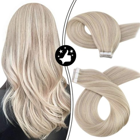 Hair Extensions Human Hair Moresoo Tape